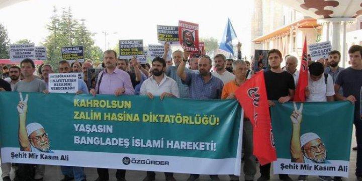 Fatih Camii'nde Mir Kasım Ali İçin Gıyabî Cenaze Namazı Kılındı