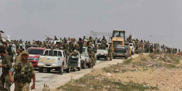 Direnişçiler El Bab Yönünde İlerliyor