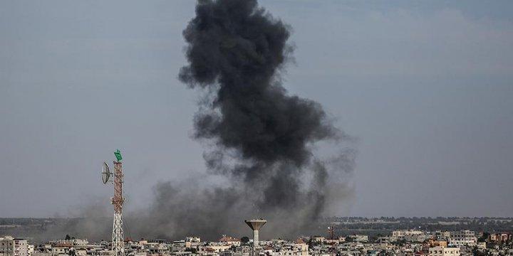 Siyonist İsrail Gazze'nin Kuzeyine Top Atışıyla Saldırdı