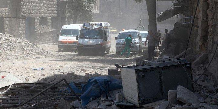 Esed Rejimi Halep'e Klor Gazıyla Saldırdı!