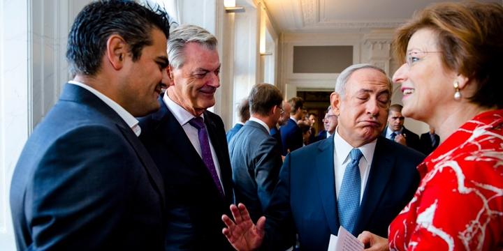 Hollandalı Vekil Netenyahu ile Tokalaşmayı Reddetti