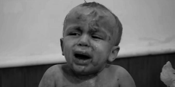 Halep'te Yine Çocuklar Vuruldu!