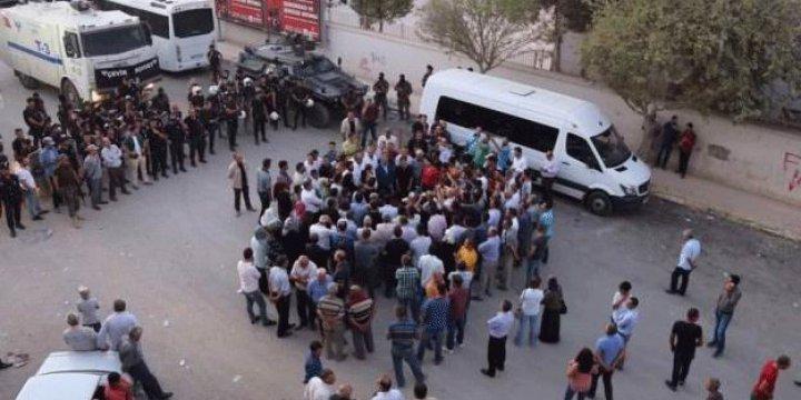 HDP Eşbaşkanı Figen Yüksekdağ Protesto İçin 30 Kişi Toplayabildi