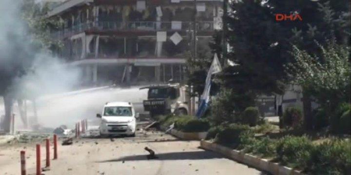 Van Beşyol Mevkisinde Patlama: 48 Yaralı