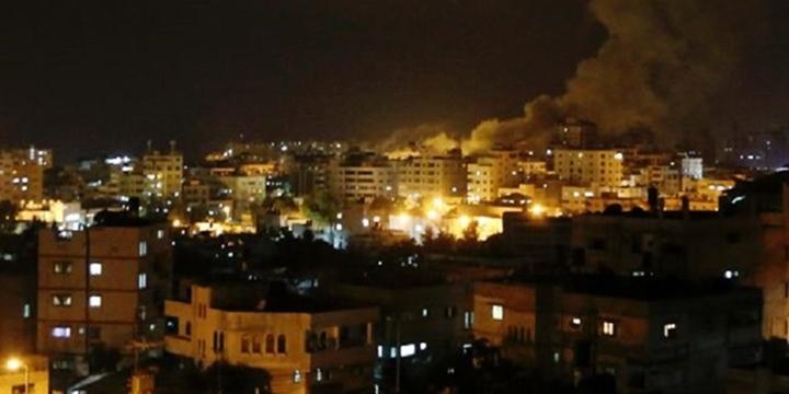 İşgalci İsrail Bayramda Gazze'yi Vurdu!