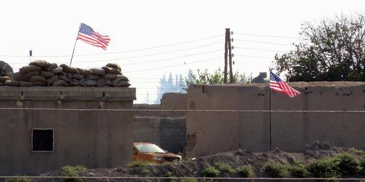 PYD Karargâhında ABD Bayrağı!
