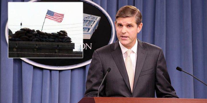 ABD PYD Karargahındaki ABD Bayrağını Ortağıyla Konuşacakmış