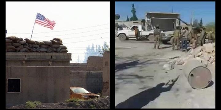 Hangisi Amerikancı: ÖSO Kovuyor PYD/PKK Bayrağına Sarılıyor