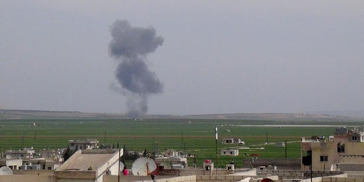 Esed Rejimine Ait Savaş Uçağı Düşürüldü
