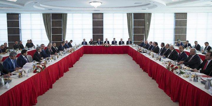 22 Valinin Katıldığı Güvenlik Toplantısı Sona Erdi
