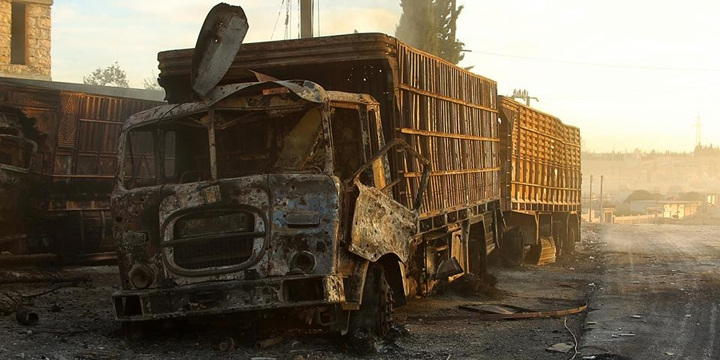 Esed Güçleri Yardım Konvoyuna Saldırdı: 12 Kişi Hayatını Kaybetti!