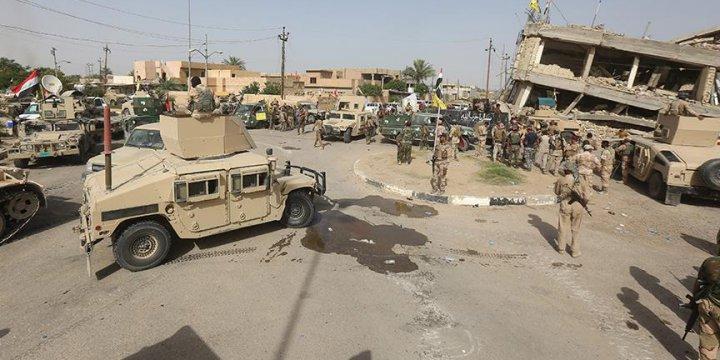 Peşmerge ve Haşdi Şa'bi Çetesi Arasında Çatışma
