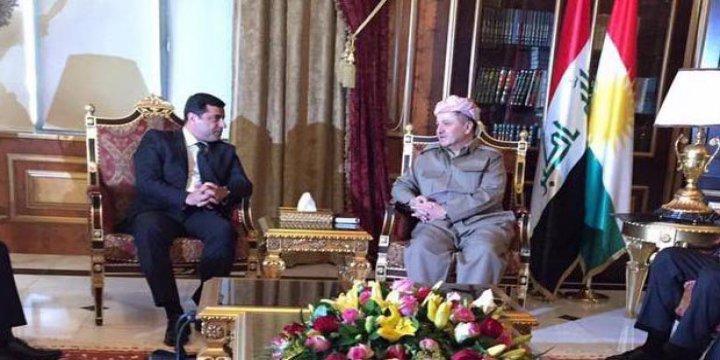 Demirtaş, Barzani'den Yardım İstedi