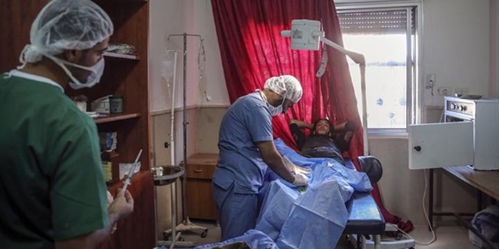 Cerablus'ta Bir Sağlık Ocağı Hastaneye Dönüştürüldü