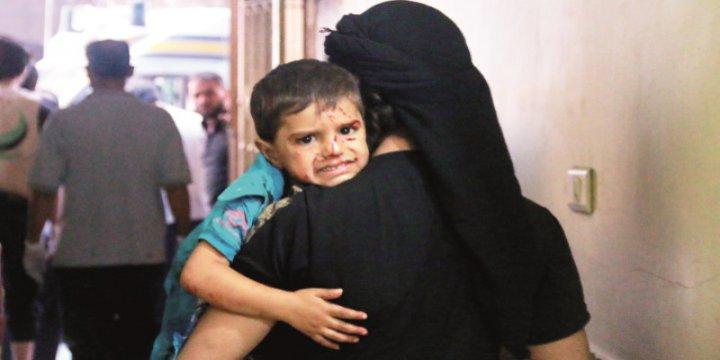Halep'te 38 Bin Çocuk Kuşatma Altında