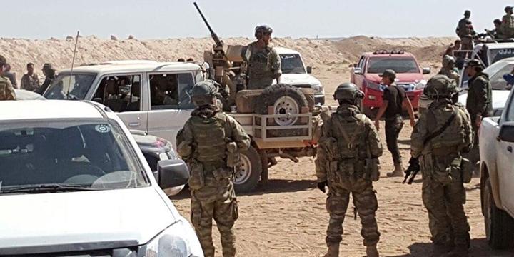 ÖSO, ABD Bayrağı Yakarak ABD Askerlerini Protesto Etti