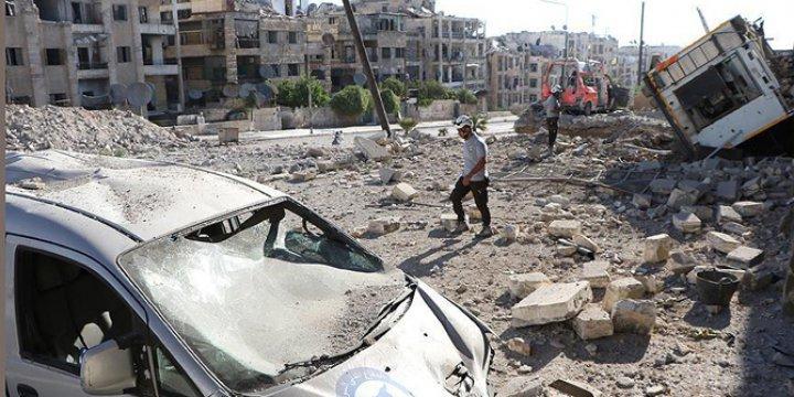 NATO: Halep Saldırıları Uluslararası Hukuku İhlali
