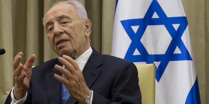 İşgalci İsrail'in Eski Cumhurbaşkanı Şimon Peres Öldü