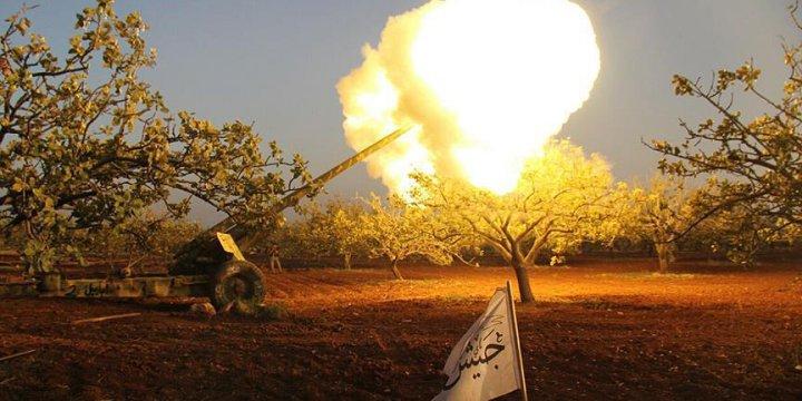 Suriyeli Direnişçiler Hama Merkezine İlerliyor