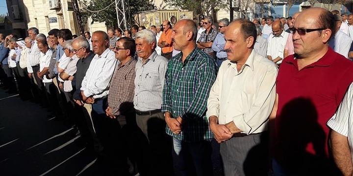 PKK'nın Suriye'deki Uzantısı PYD, Kamışlı'da Protesto Edildi