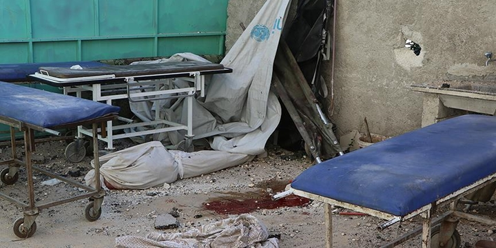 Esed Güçleri Halep'te Sahra Hastanesine Saldırdı!