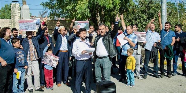 Halep Katliamı Muş'ta Protesto Edildi