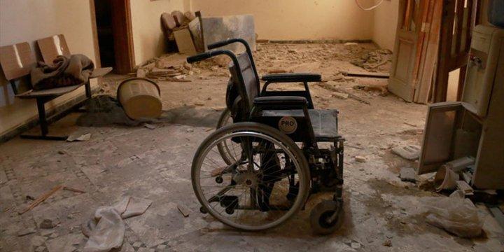 Katil Esed Rejimi Halep'in En Büyük Hastanesini Vurdu!