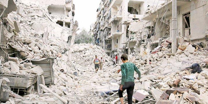 İran ve Rusya'nın Halep'te Çocuklarla Savaşı