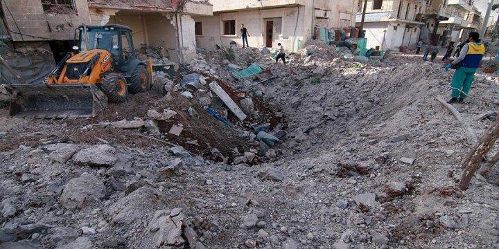 Ruslardan Halep'te Sahra Hastanesine Bombalı Saldırı: 7 Ölü