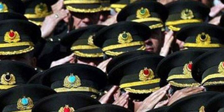 TSK'daki General Sayısı 358'den 201'e Düştü