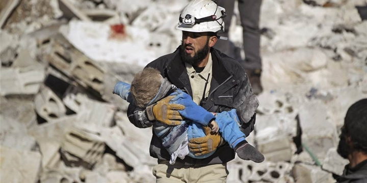 Suriye'nin İsimsiz Kahramanları: Beyaz Miğferler