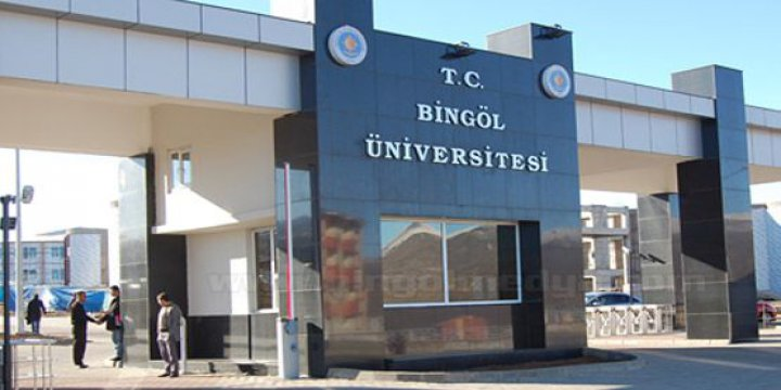 Bingöl Üniversitesi'nde 5 İhraç
