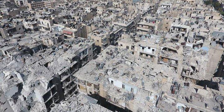 Esed, İran ve Rusya'nın Harabeye Çevirdiği Şehir: Halep (FOTO)