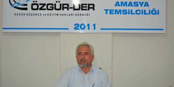 """Amasya Özgür-Der'de """"Kur'an'a Göre İnsan Neden Yaratıldı"""" Konusu İşlendi"""