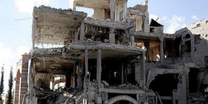 Sana'da Taziye Evine Hava Saldırısı: 140 Ölü