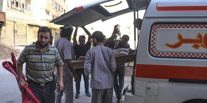 Esed Güçleri Şam'ın Cobar Bölgesine Saldırdı!
