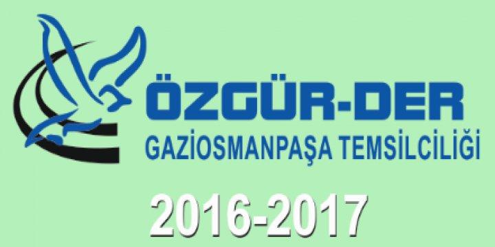 Gaziosmanpaşa Özgür-Der 2016-2017 Derslerine Başlıyor