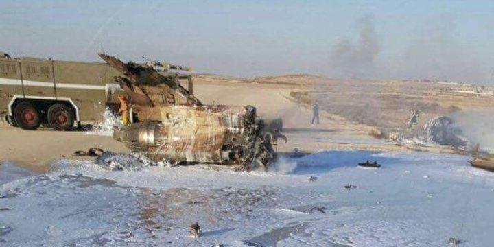 Gazze'yi Bombalayan F-16 Düştü