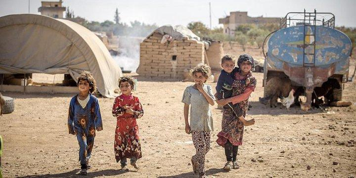 Savaşın Göçebe Yaptığı Aileler