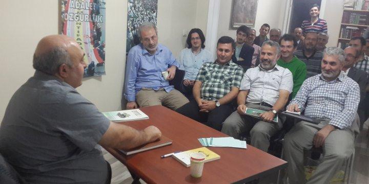 Özgür-Der Üsküdar Şubesinde 'Takva' Kavramı İşlendi