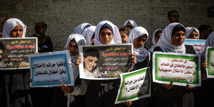 İsrail Hapishanelerindeki Filistinli Çocuklar