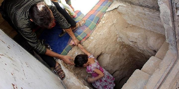 Suriye'de Sığınak Yapımı Hız Kazandı!