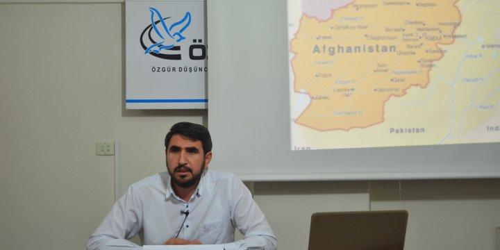 "Amasya Özgür-Der'de ""Afganistan"" Konuşuldu"