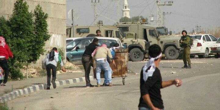 Ebu Dis'teki Çatışmalarda Onlarca Filistinli Yaralandı