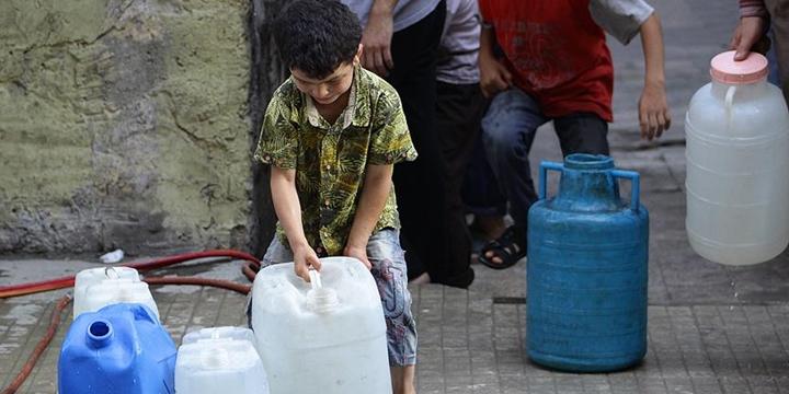 Halep'te Su Şebekesinin Yüzde 80'i Hizmet Dışı!