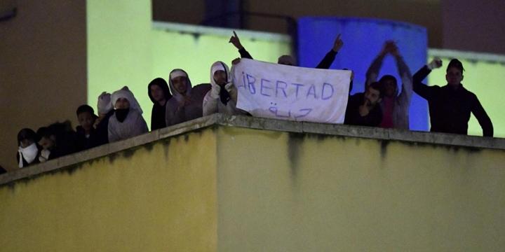 Madrid'deki Göçmenler: Özgür ve Onurlu Bir Yaşam İstiyoruz