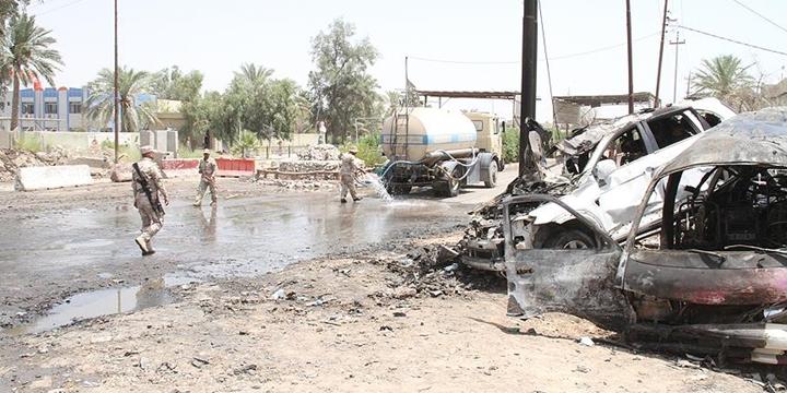 Necef'te Bombalı Saldırı: 6 Polis Öldü