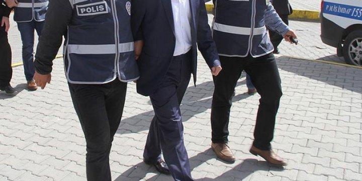 Alacakaya Kaymakamı Celalettin Taşkaya Gözaltına Alındı