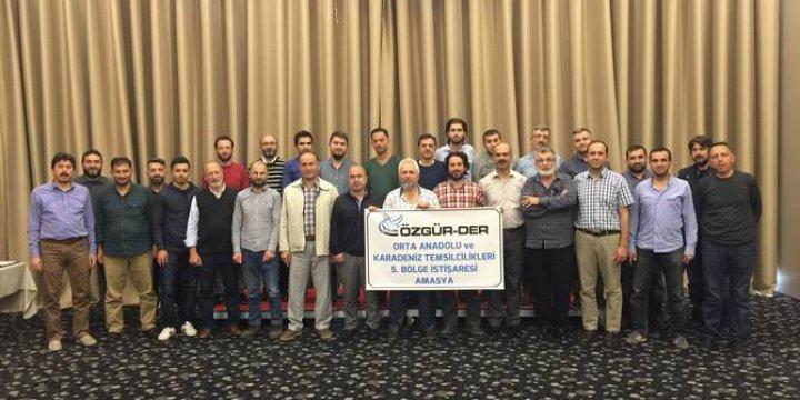 Özgür-Der'in Orta Anadolu ve Karadeniz İştişaresi Yapıldı
