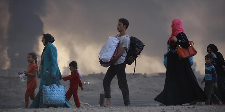 """""""Musul'da Evlerini Terk Edenlerin Sayısı 235 Bine Yükseldi"""""""